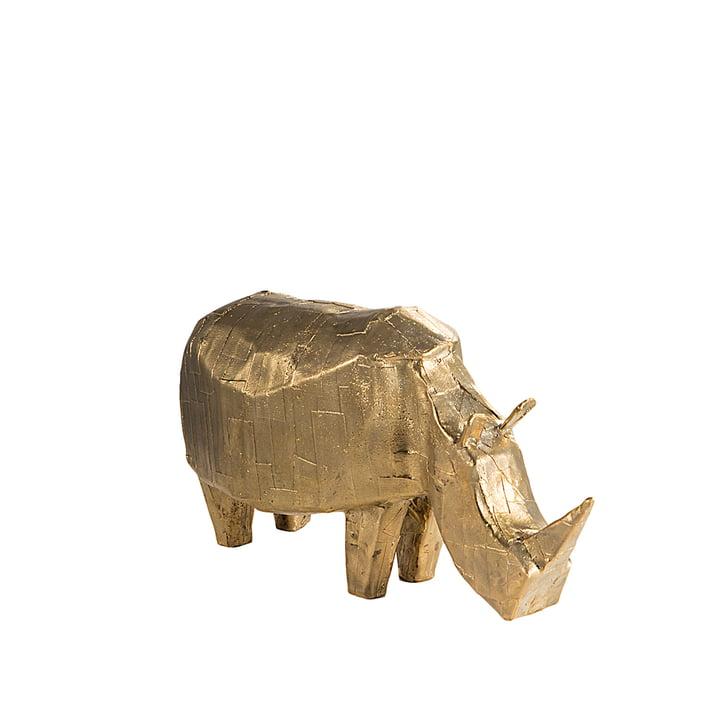 Bronze-Nashorn von Kai Linke für Pulpo