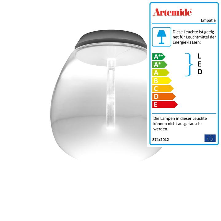 Artemide - Empatia 26 Soffitto LED Deckenleuchte, weiß