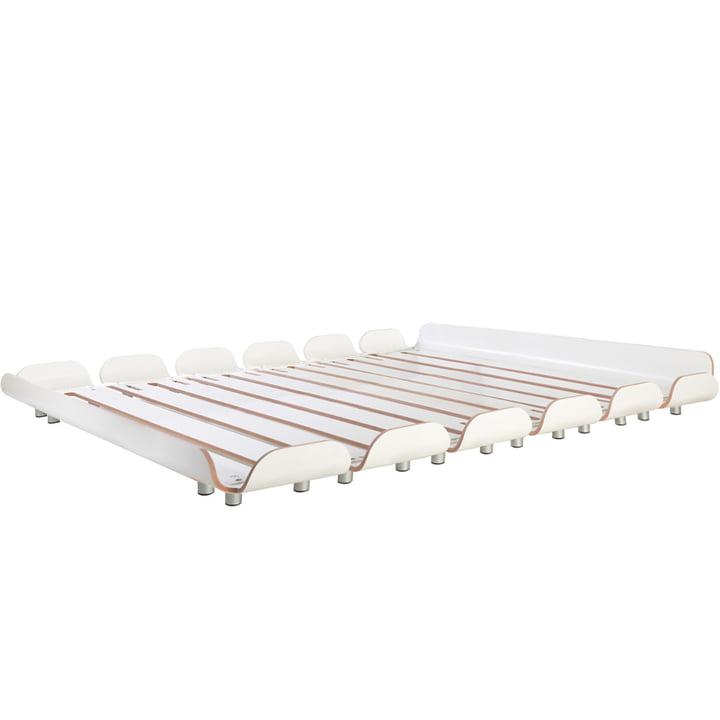 Tiefschlaf Bett 160 cm von Stadtnomaden in Weiß