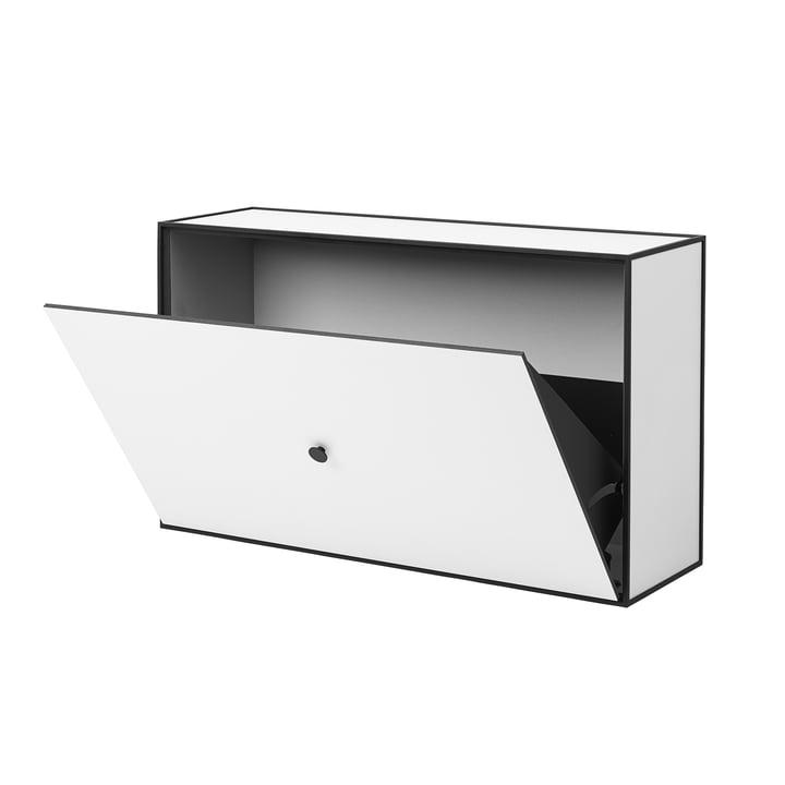 Frame Schuhschrank von by Lassen in Weiß