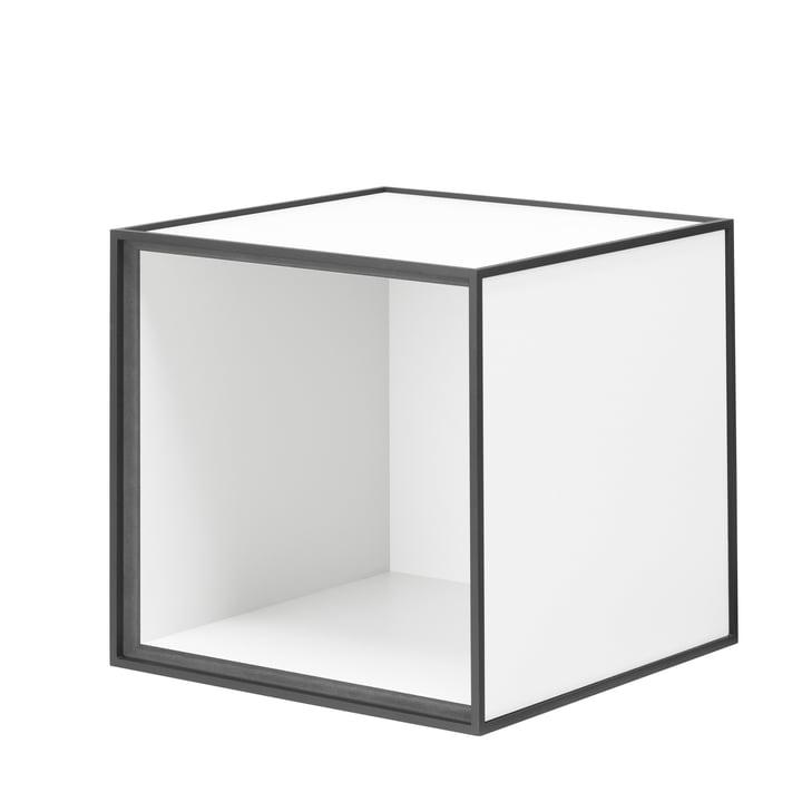 Frame Wandschrank 28 von by Lassen in Weiß