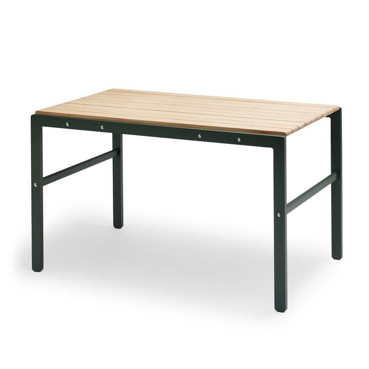 Der Skagerak - Reform Tisch in Teak / jagdgrün
