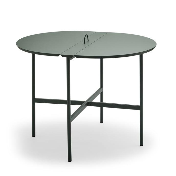 Der Skagerak - Picnic Tisch 105 cm in jagdgrün