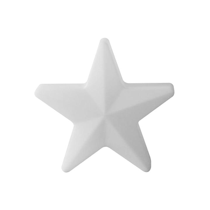 Moree - LED Weihnachtsstern Star 40, kabellos, weiß transluzent
