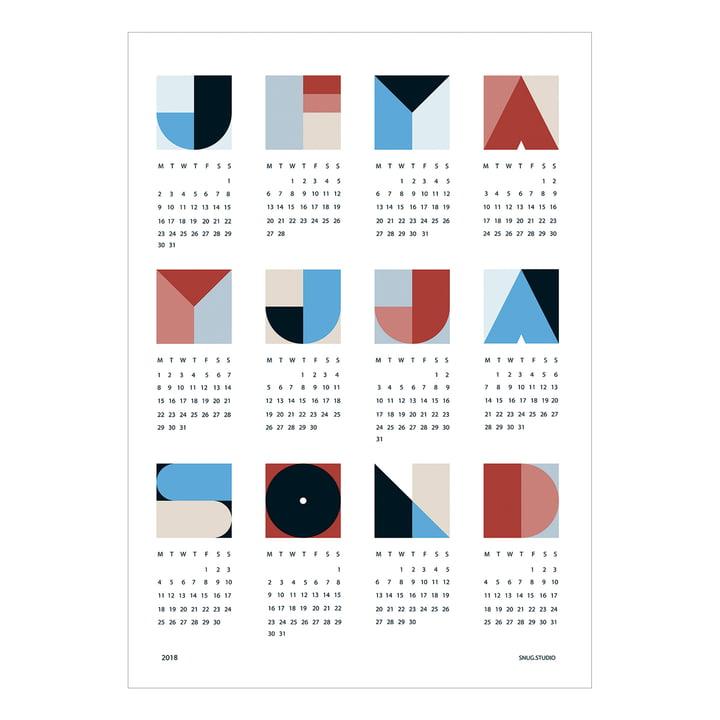 snug.geo Kalender 2018 von Snug.studio
