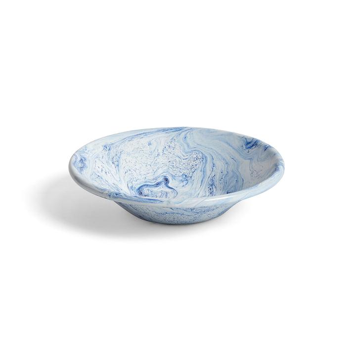 Der Hay - Soft Ice tiefer Teller, Ø 17 cm in blau