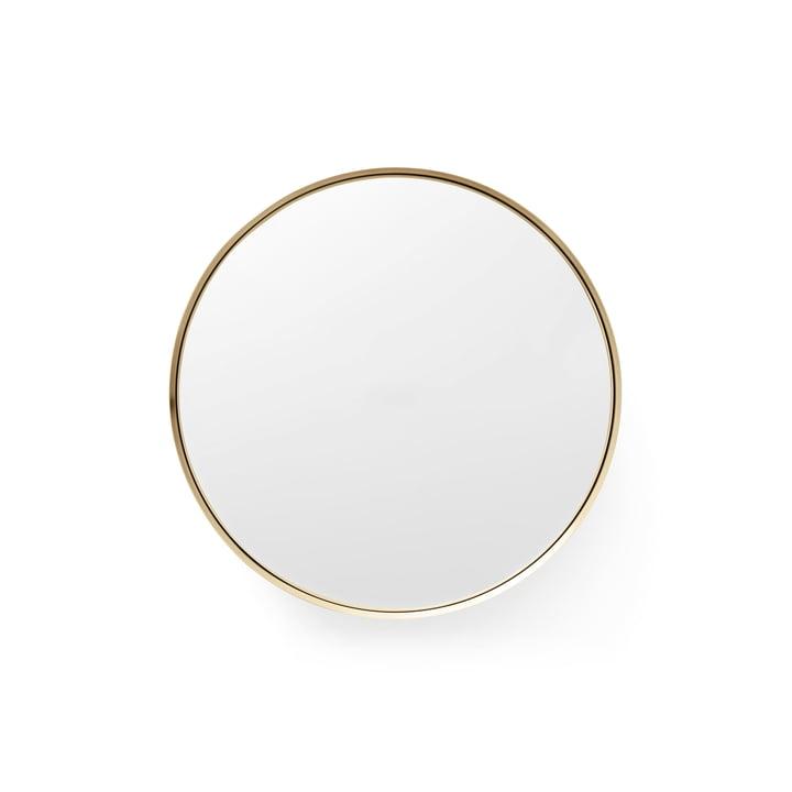 Darkly Spiegel L Ø 20 cm von Menu aus Messing