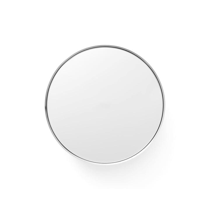 Darkly Spiegel L Ø 20 cm von Menu aus Aluminium