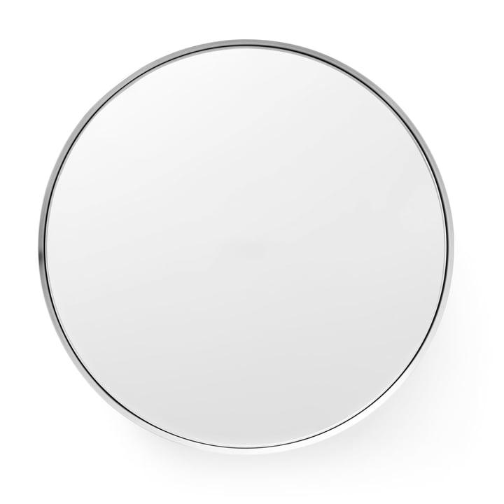 Darkly Spiegel L Ø 60 cm von Menu aus Aluminium