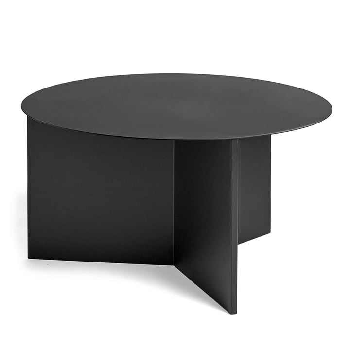 Der Hay - Slit Table XL in schwarz