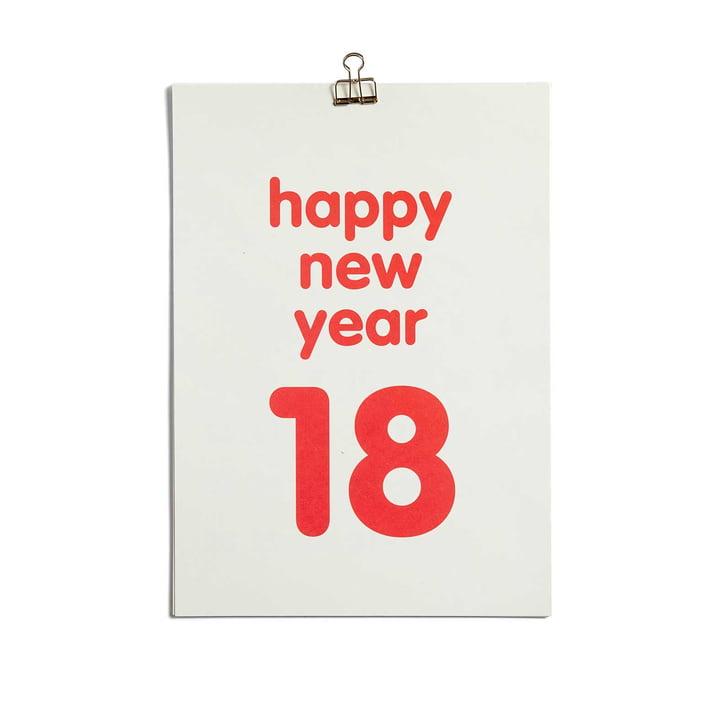 Clip Kalender 2018 von Hay