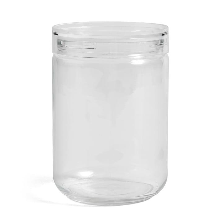 Hay - Japanisches Vorratsglas XL, Ø 11 x H 17 cm in klar