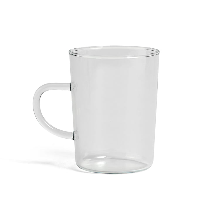 Glas Teetasse von Hay in klar