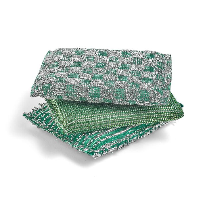 Die Hay - Glitter Schwamm, grün (3er-Set)