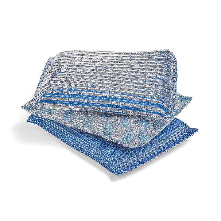 Die Hay - Glitter Schwamm in blau (3er-Set)