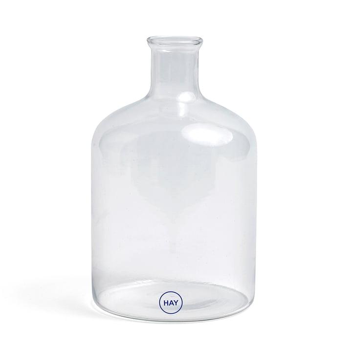 Türkische Zylinderglasflasche von Hay in klar
