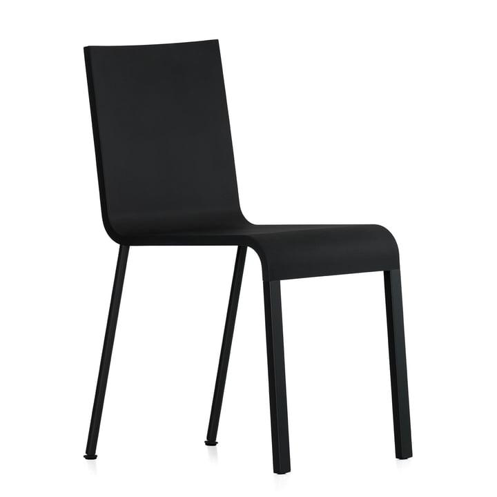 Vitra - .03 Stuhl, Untergestell pulverbeschichtet, basic dark (nicht stapelbar)