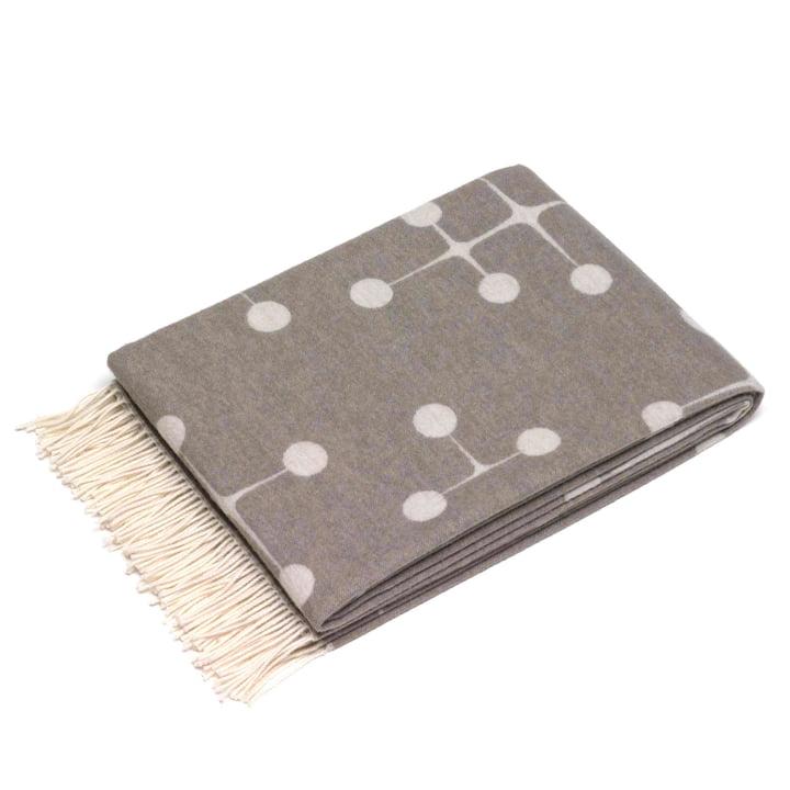 Vitra - Eames Wolldecke, Dot Pattern, taupe