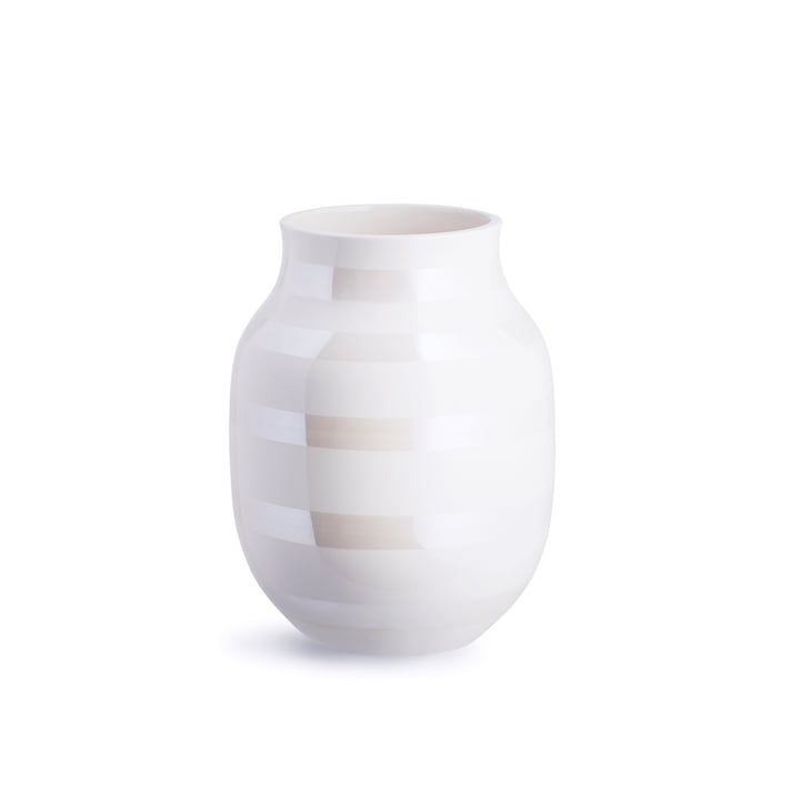 Omaggio Vase H 200 von Kähler Design in Perlmutt