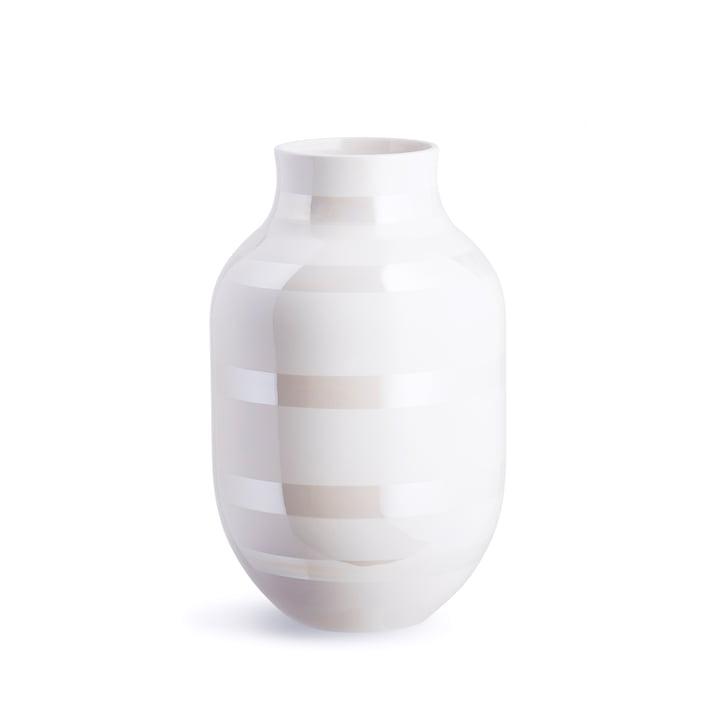 Omaggio Vase H 305 von Kähler Design in Perlmutt