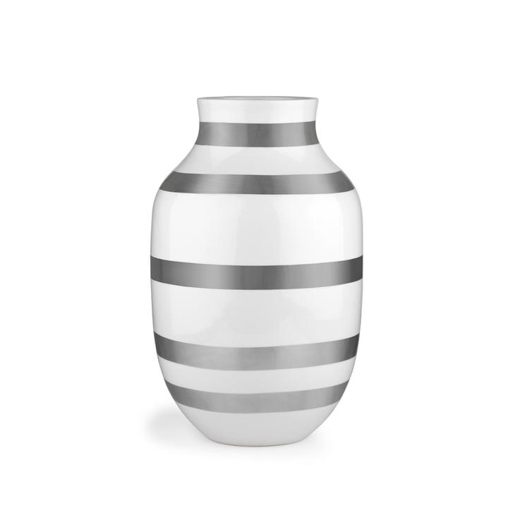 Omaggio Vase H 305 von Kähler Design in Silber