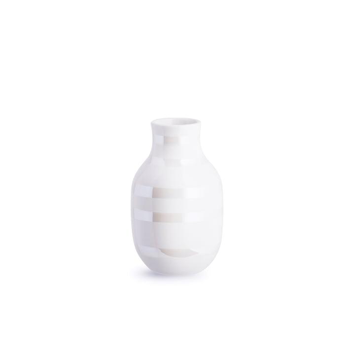 Omaggio Vase H 125 von Kähler Design in Perlmutt