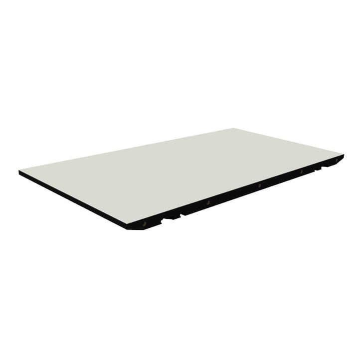 Einlegeplatte für T1 Ausziehtisch von Andersen Furniture in Laminat weiß