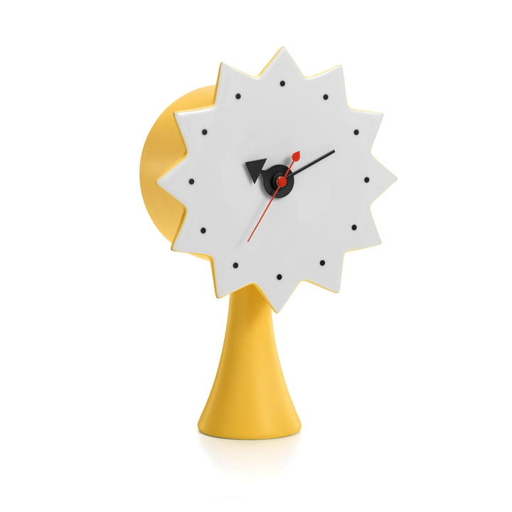 Ceramic Clock von Vitra in Gelb
