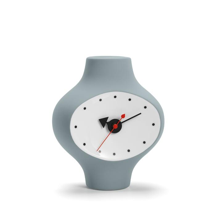 Ceramic Clock Model #3 von Vitra in Dunkelgrau / Blau