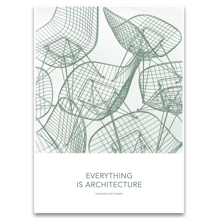Eames Quotes Poster Architecture von Vitra
