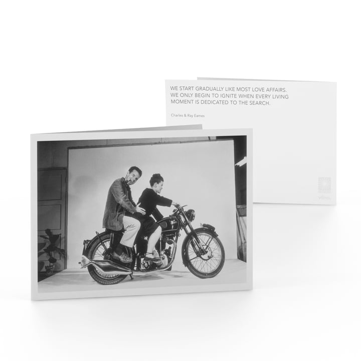Eames Quotes Greeting Card Love Affairs von Vitra