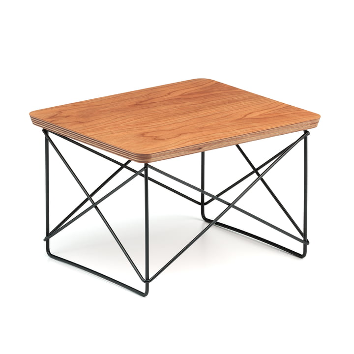 Vitra - Eames Occasional Table LTR, Amerikanischer Kirschbaum / basic dark