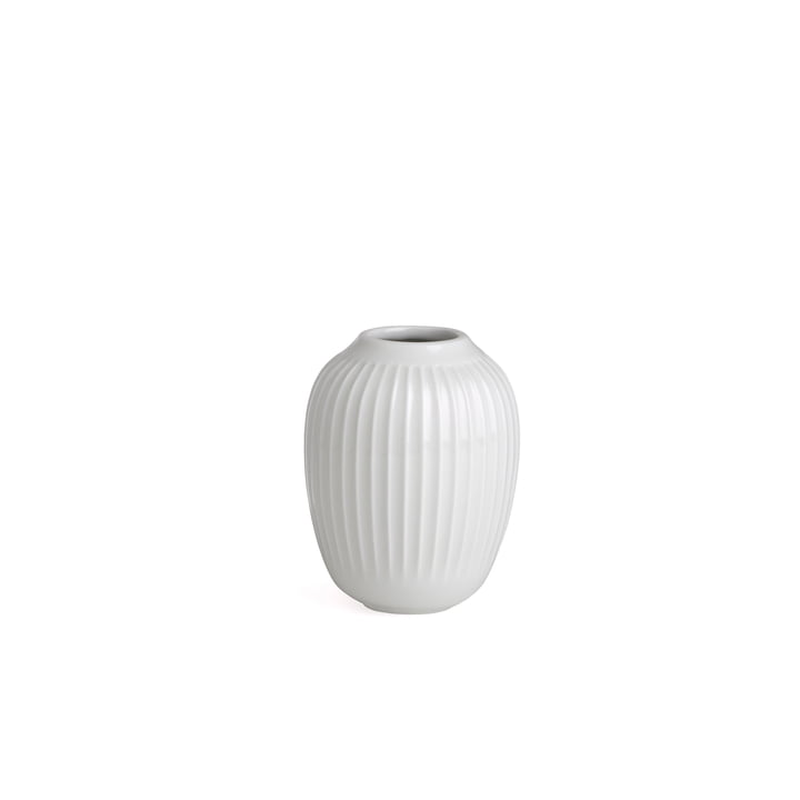 Hammershøi Vase H 10 cm von Kähler Design in Weiß