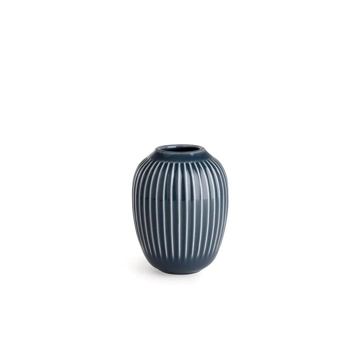 Hammershøi Vase H 10 cm von Kähler Design in Anthrazit