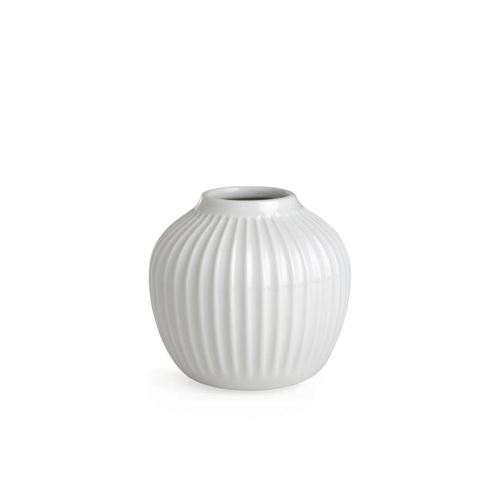 Hammershøi Vase H 12,5 cm von Kähler Design in Weiß