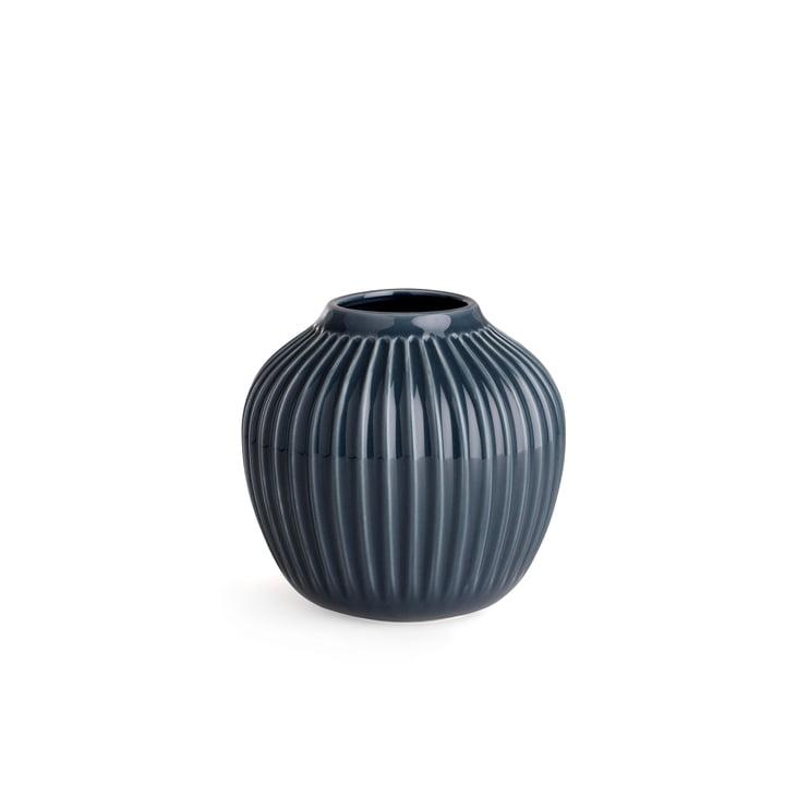 Hammershøi Vase H 12,5 cm von Kähler Design in Anthrazit