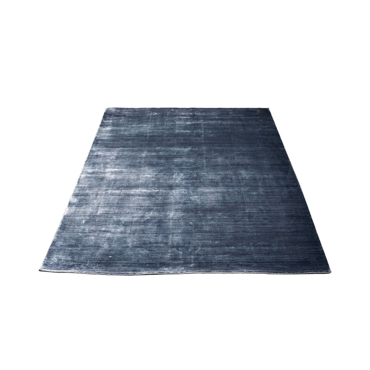 Der Massimo - Bamboo Teppich 140 x 200 cm, steelblack