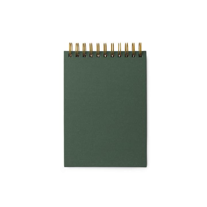 Das Normann Copenhagen - Spiral Notizbuch, 20,6 x 14,5 cm in dunkelgrün