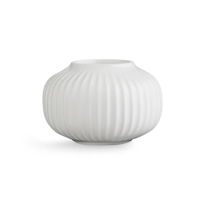 Hammershøi Teelichthalter H 6,5 cm von Kähler Design in Weiß