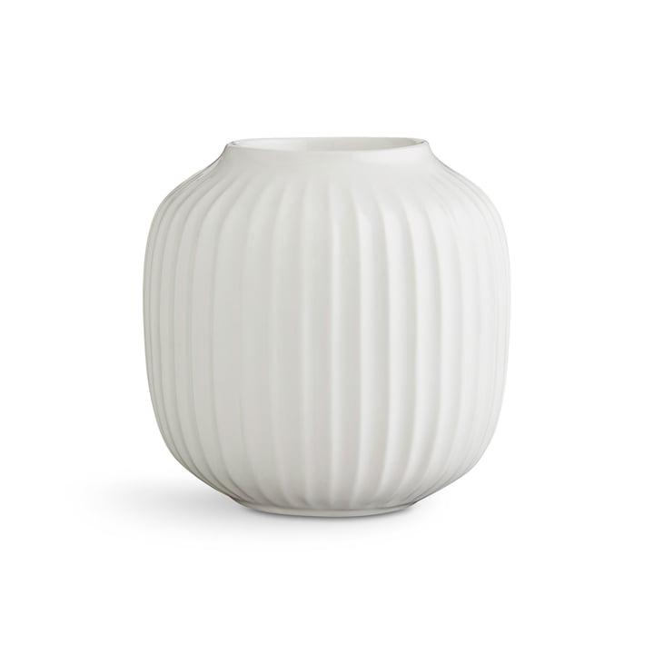 Hammershøi Teelichthalter H 9 cm von Kähler Design in Weiß