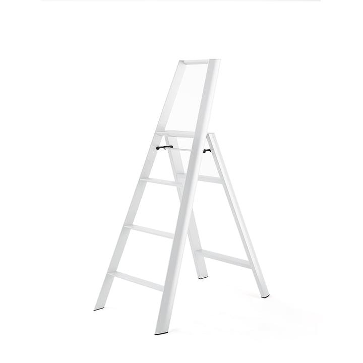 Lucano 4 Step Trittleiter von Metaphys in Weiß