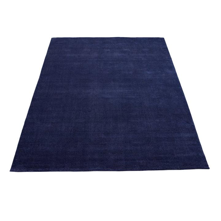Earth Bamboo Teppich 170 x 240 cm von Massimo in Vibrant Blue