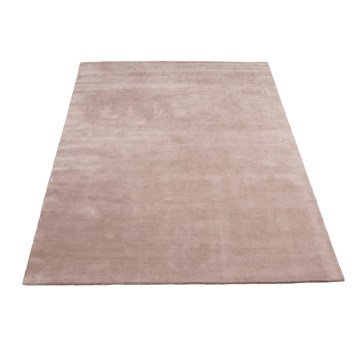 Earth Bamboo Teppich 170 x 240 cm von Massimo in Nougat Rose