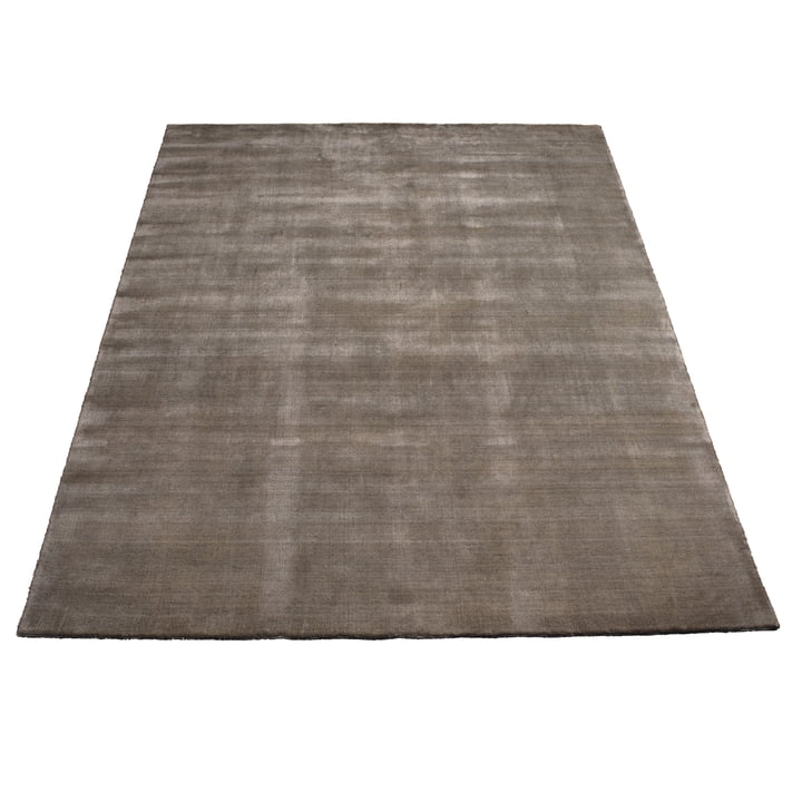 Earth Bamboo Teppich 200 x 300 cm von Massimo in Warm Grey