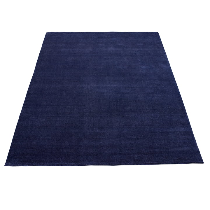 Earth Bamboo Teppich 200 x 300 cm von Massimo in Vibrant Blue