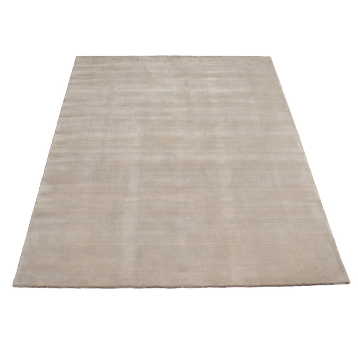 Earth Bamboo Teppich 200 x 300 cm von Massimo in Soft Grey