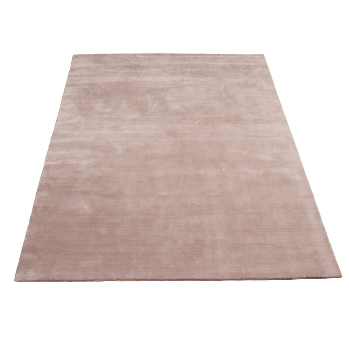 Earth Bamboo Teppich 200 x 300 cm von Massimo in Nougat Rose