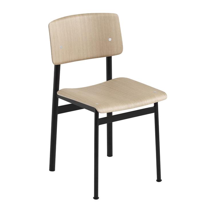 Loft Chair von Muuto in Eiche / Schwarz