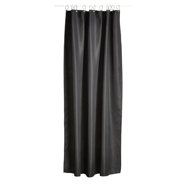 Der Zone Denmark - Lux Duschvorhang in schwarz