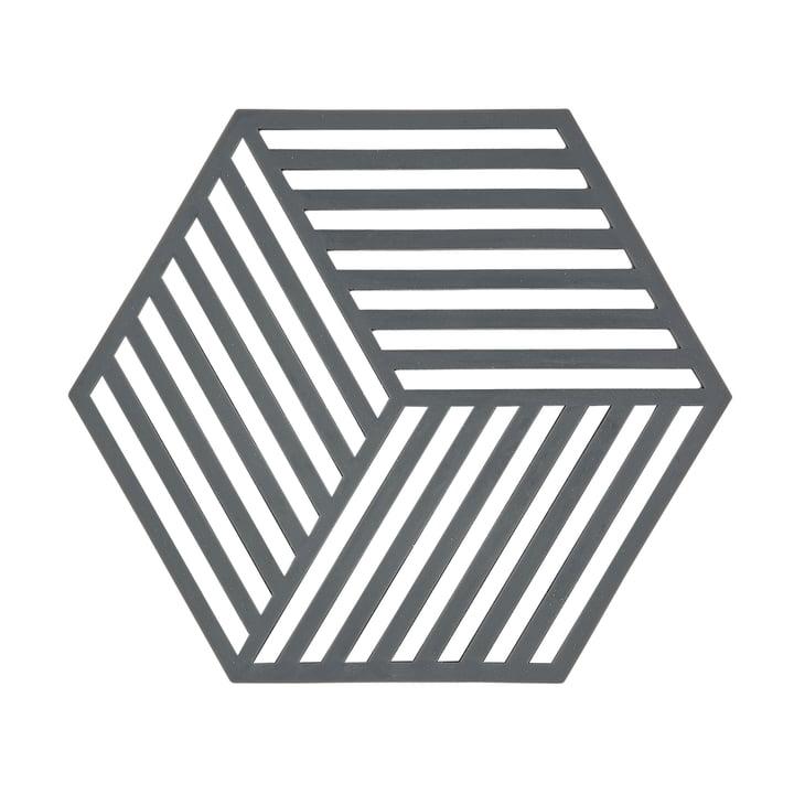 Der Zone Denmark - Hexagon Untersetzer in grau